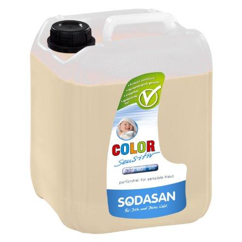 SODASAN Color sensitiv Flüssigwaschmittel 25 L