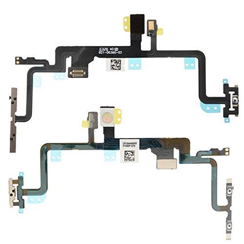 BisLinks® Apple iPhone 7 PLUS Schalter Power Volumen Button On/Off Control Flash Licht Mic Microphone & Stumm Button Flex Kabel Ribbon Ersatz Teil (Ribbon Cable Flex Motherboard)