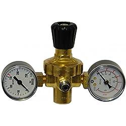 Oxyturbo - Réducteur de pression Mignon pour CO2-Argon-Mix bouteilles jetables Art.225200
