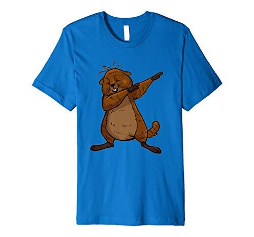Shirt Funny Sanftes Murmeltier T-Shirt ()