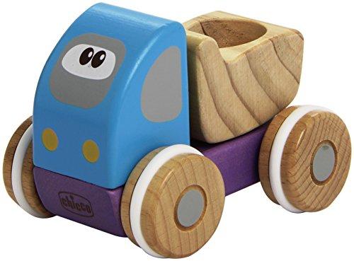 Chicco Truck Madera vehículo de juguete - Vehículos de juguete (Madera, Multicolor, 1 año(s), Niño)