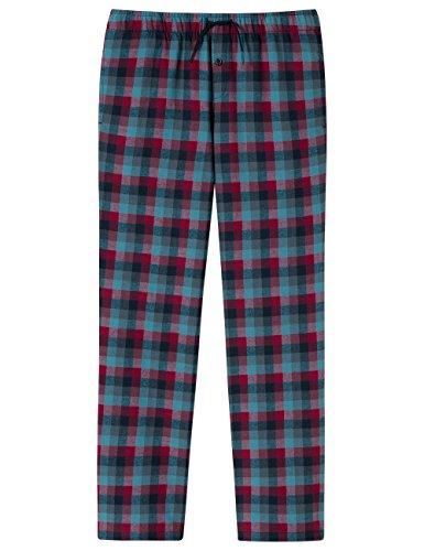 Schiesser Jungen Schlafanzughose Mix & Relax Webpants, Blau (Nachtblau 804), 164 (Herstellergröße: M)