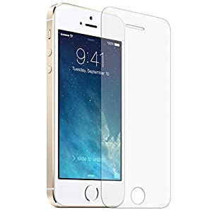 Generic Écran pour Apple iPhone 5 / 5S Verre trempé Tempered Glass Crystal Clear LCD Protecteur & Chiffon