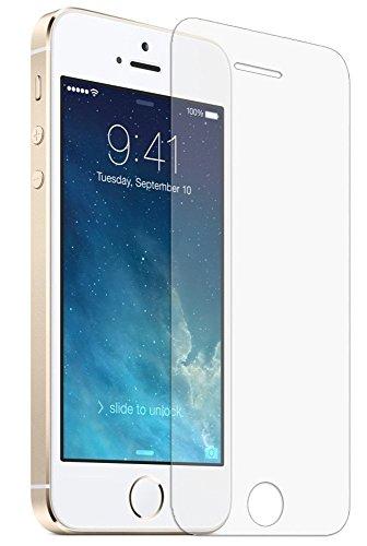 Generic Écran pour Apple iPhone 5 / 5S Verre trempé Tempered Glass Crystal Clear LCD Protecteur & Chiffon