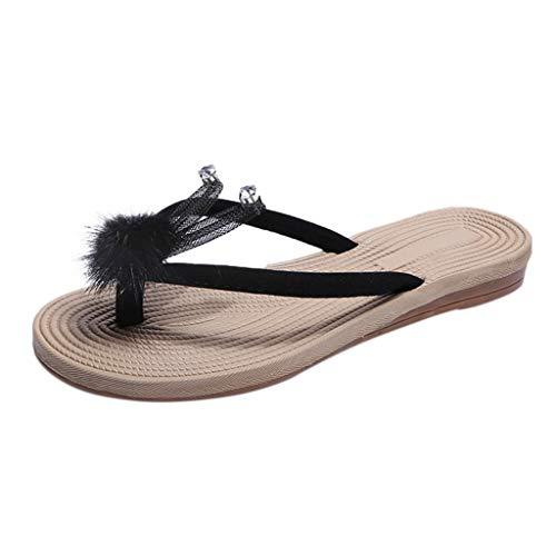 Frauit sandali estivi donna bassi gioiello infradito donne eleganti con strass sandali bassi etnici pantofole ragazza antiscivolo ciabatte piscina ragazze infradito scarpe da spiaggia flip flops