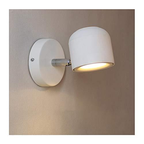 Vosarea LED Reading Lights with Brushed Nickel Lampshade Warm Lighting 2 Pcs 3000K 3W 12V