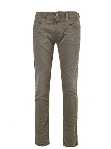 Replay Herren Jeanshose Military Green