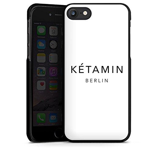 Apple iPhone X Silikon Hülle Case Schutzhülle Ketamin Berlin Luxus Hard Case schwarz