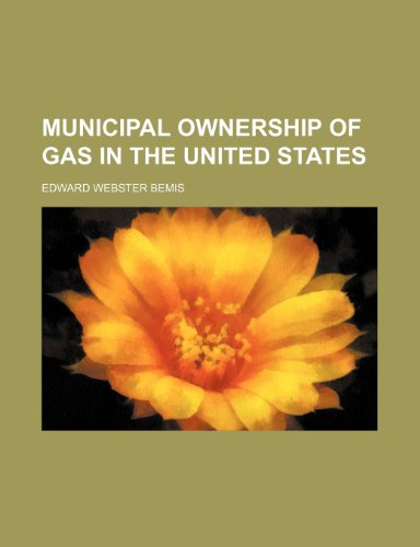 Municipal ownership of gas in the United States