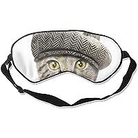 Schlafmaske mit Hut und Augenmaske – leicht mit verstellbarem Riemen – blockiert das Licht komplett – ideal für... preisvergleich bei billige-tabletten.eu