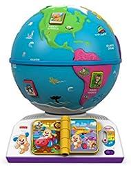 Mattel Fisher-Price DRJ80 Globe d'apprentissage ludique