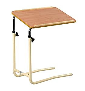 days overbed table table slides over a bed to provide user with a rh amazon co uk