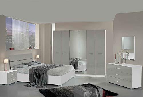 LIGNEMEUBLE Manaus - Conjunto Dormitorio Moderno Armario
