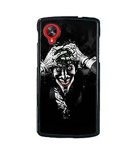 Fuson 2D Printed Ghost Designer back case cover for LG Nexus 5 - D4449