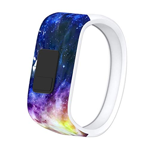 Vektenxi Premium-Qualität großer Ersatz-Armband Silikonband Verschluss für Garmin Vivofit JR Watch