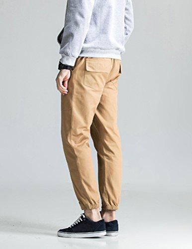 Boom Fashion Chino Hose Herren Sweatpants Sporthose Baggy