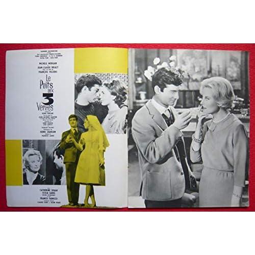 Dossier de presse de Le Puits aux 3 Vérités (1961) – Film de François Villiers avec Michèle Morgan, Jean-Claude Brialy – 8 pages – Photos N&B + résumé du scénario – Bon état.