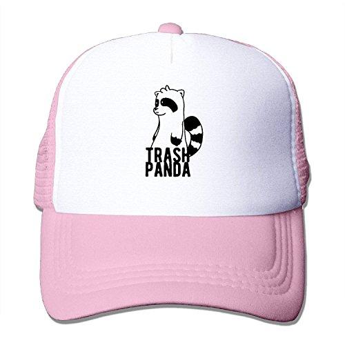 lijied Mesh Hat Trash Panda Cartoon Cute Strapback Hats Unisex - Trash Mann Kostüm