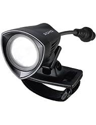 Sigma Sport Beleuchtung BUSTER 2000 HL – Helmleuchte, 2000 Lumen, 200 m Leuchtweite, Micro-USB Ladefunktion, spritzwassergeschützt IPX 4