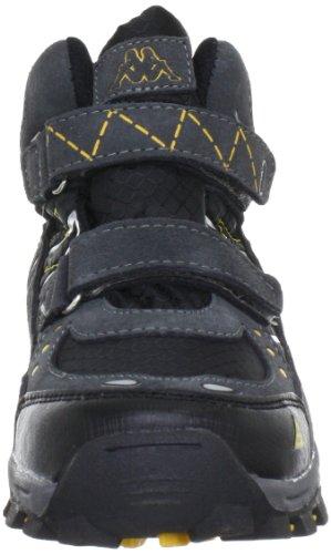 Kappa BLISS Tex Unisex-Kinder Hohe Sneakers Grau (1611 grey/black)