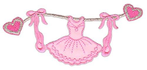 Preisvergleich Produktbild Kleid Ballet Ballerinas Aufnäher Bügelbild
