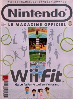 NINTENDO N? 64 du 01-02-2008 WII FIT - DS - GAMECUBE d'occasion  Livré partout en Belgique