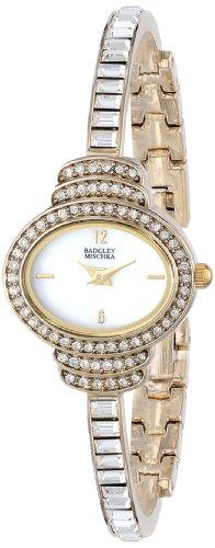 badgley-mischka-womens-ba-1320wmgb-swarovski-crystal-accented-watch