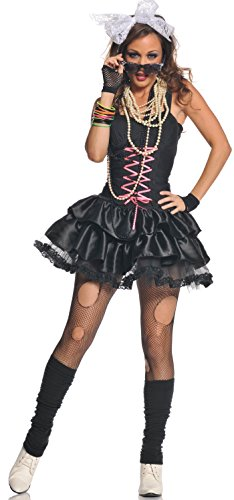 Underwraps 80'S Black Tutu Corset Womens Costume - Best 80's Paare Kostüm