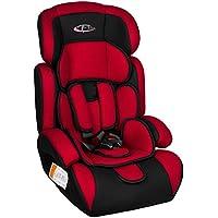 TecTake Silla de coche para niños - Grupos 1/2/3   pesos de 9-36 kg   disponible en diferentes colores