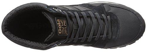 Gola Ridgerunner High Ii, Baskets Basses Homme Noir - Schwarz (Black/Black)
