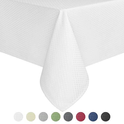 Eforcurtain Home Fashion Funda mesa rectangular resistente