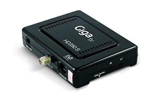 Giga TV HD350 S - Sintonizador de TV (HD, HDMI, DVB-S2, USB),...