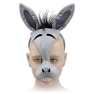 Bristol Novelty Novelty-EM179 EM179 - Máscara de Acne para niños, Color Gris