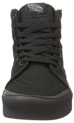 Vans Ua Sk8-Hi Lite, Sneakers Hautes Mixte Adulte, (Canvas) Black/Black Noir (Canvas Black/black)