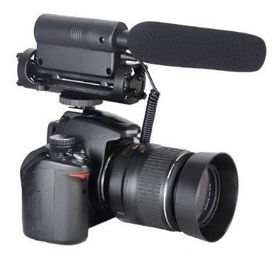 Takstar SGC-598 Richtrohrmikrofon Pro Richtrohrmikrofon Photografie Interview MIC Mikrofon Professionelle DV Stereo Mikrofon Kamera Stereo Mikrofon für Nikon Canon kamera DV Camcorder
