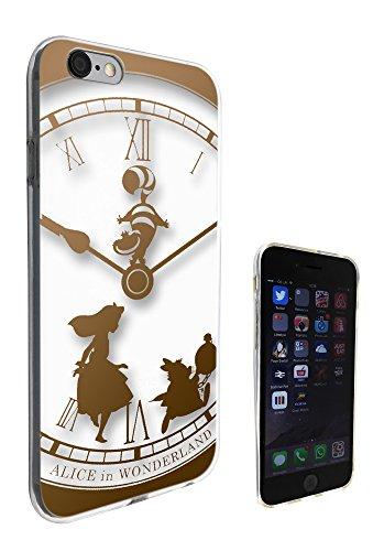 459–Horloge Vintage Motif Alice au Pays des merveilles pour iphone 5/5S Fashion Trend coque En Gel de Silicone-tout coins de Protection