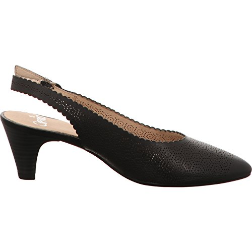 Caprice 9-9-29601-28-001, Sandales pour femme Noir