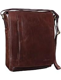 b1c99ce35f12 STILORD  Paul  Umhängetasche Herren Leder Hochformat Messenger Bag im  Vintage Design Ledertasche für 13