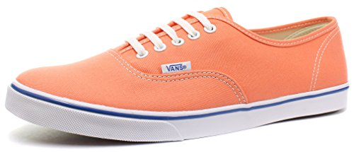 Vans Authentic Lo Pro Marble Blue / True White - femmes Melon/True White