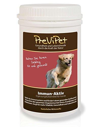 500g Previpet Immun-Aktiv Ergänzungsfutter für Hunde - stärkt das Immunsystem & fördert den Stoffwechsel - für mehr Vitalität, Gesundheit und Lebensfreude - bei bei Stress Krankheit und Infektionen