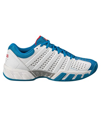 K-Swiss , chaussures basses homme White/Blue