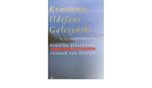 Kronika Olsztynska Amazoncouk Konstanty Ildefons