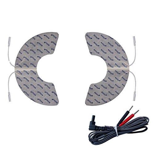 2 Elektroden für Knie-Schmerzbehandlung. Passend zu Sanitas SEM 43 und SEM 44