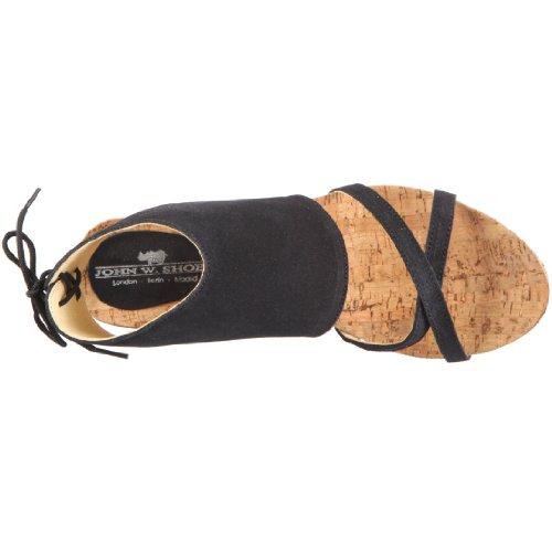 John W. Shoes Leticia 1083, Sandales mode femme Bleu-TR-CU