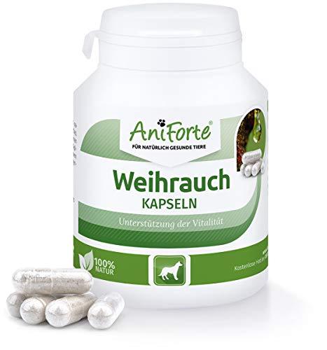 AniForte Weihrauch-Kapseln 100 Stück - Naturprodukt für Hunde