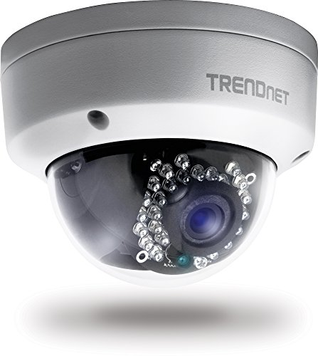 TRENDnet TV-IP311PI Indoor/Outdoor Dome PoE IP Kamera (mit 3 Megapixel Full 1080p)