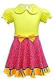 MingoTor Surprise Doll Kleid Knielang Mädchen Kinder Cosplay Kostüm Karneval Party Verkleidung 110