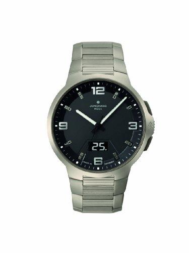 Junghans Herren-Armbanduhr Voyager Funk Titanium 030/2902.44