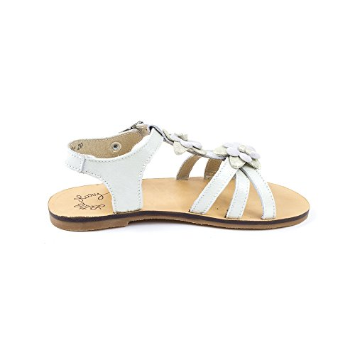 Sandales PERLA blanc - Little Mary Blanc
