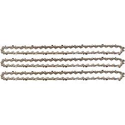 """3 tallox Chaînes de tronçonneuses 3/8"""" 1,3 mm 50 maillons longueur de guide-chaîne 35 cm compatible avec Stihl"""